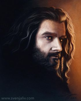 Thorin - I See Fire by SvenjaLiv