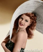 Rita Hayworth III by M3ment0M0ri