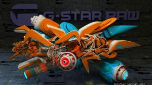 G-Star Raw 3d Graffiti by anhpham88