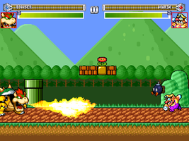 Mario stage for M.M.P by mariotimemugen