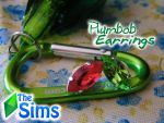 Plumbob Earrings #The Sims style! by JEricaM