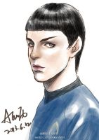 Star Trek AOS-Spock by alexzoe