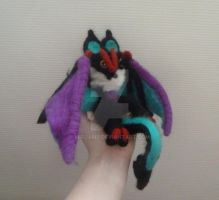 Wool Needle felted Noivern by Mirjamp