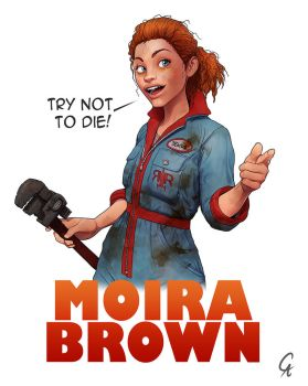 Moira Brown, yet again by CameronAugust