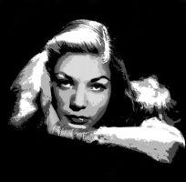 Lauren Bacall - Vectored 2 by musicgal3