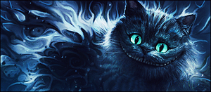 Cheshire Cat by LeeinaGFX
