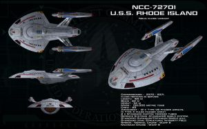 Nova class variant ortho - USS Rhode Island by unusualsuspex