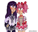 pink gay and purple gay by purplefurby2