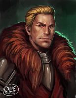 Dragon Age: Inquisition Fanart Cullen Rutherford by OlieBoldador