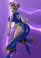 Chun li battle clothes design by OutlawMonkey