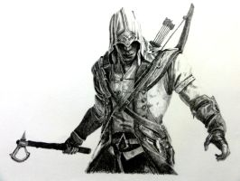 Connor Kenway, Assassin's Creed 3 by RishanCooray