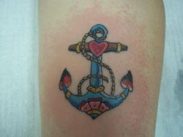 Anchor of love by Twistedink
