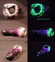 Jack Skellington Purple Drip Pipe by Undead Ed Glo by Undead-Art
