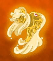 Slime Pony: Butter by AkuOreo