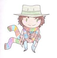 the fourth Doctor by Heavy-Colors