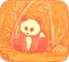 Lil' Panda by SweetLhuna