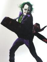 The Joker - Heath Ledger by Enerki