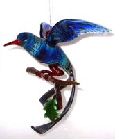 Large bird of Paradise Hanging by wickedglass