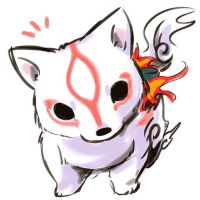Okami by jokeraminor