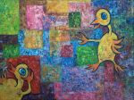abstract with duckies nr. 214 by misterwackydoodle