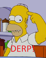 Homer DERP by NinjaKittyofRage
