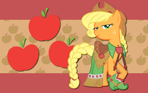 Gala Applejack WP by AliceHumanSacrifice0