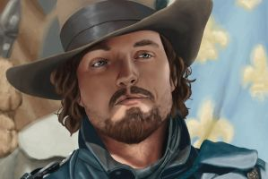 The Musketeers - Athos by celientje125