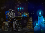 Night in the Library by maryalice21