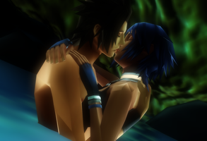 MMD KH - Our Little Secret - Terraqua by XxChocolatexHeartsxX