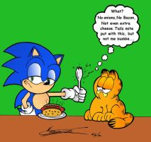 CrossOver #1 Set 1 Garfield by MrTumminia