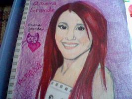ariana grande by mistresscarrie