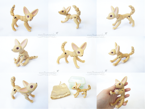 Ball Jointed Fennec Fox - For sale! by vonBorowsky