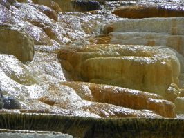 Mammoth Hot Springs IV by Synaptica