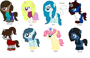 Gamer Pony Adopts #1 by pixieadopts