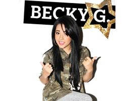 Becky G Png by LuzcaEditions