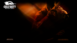 Black Ops 2 Orange - PS3 Wallpaper by Msbermudez