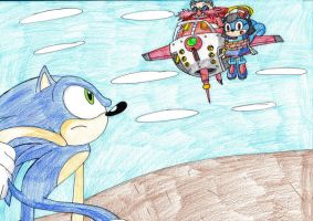 Sonic To The Rescue by sammychan816