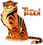 Teddi Teh Tiger by Nightrizer