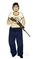 L4D2: Ellis, gender-swapped by rabbitcourage