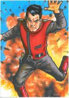 Captain Scarlet Is Indestructible. You Are Not. by Hognatius