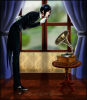 His Master's Voice...? by SweetLittleVampire
