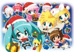 Vocaloid Christmas by Violet-Silence