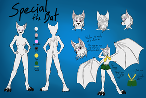 Character Sheet - Special the Bat by bingodingo