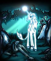 White ghost of the forest by Yula568