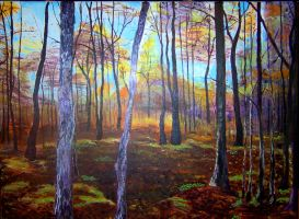 a painted forest by vanDara