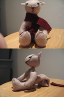 Jointed Squirrel Doll by pixidance