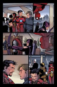Avengers page 9 by DEADNEMO