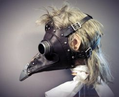 Dr Beulenpest Side View by TomBanwell
