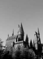 Hogwarts BW by MaginaRevolution