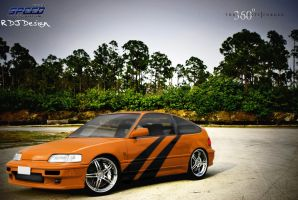 Honda CRX by RDJDesign